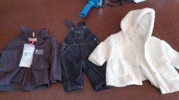 Lot mostly baby clothes